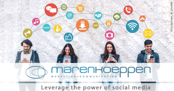 Social Marketing and Social Selling, support by marenkoeppen