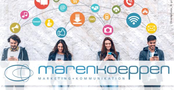 Social Marketing und Social Selling mit marenkoeppen