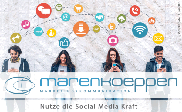 Social Marketing und Social Selling mit marenkoeppen