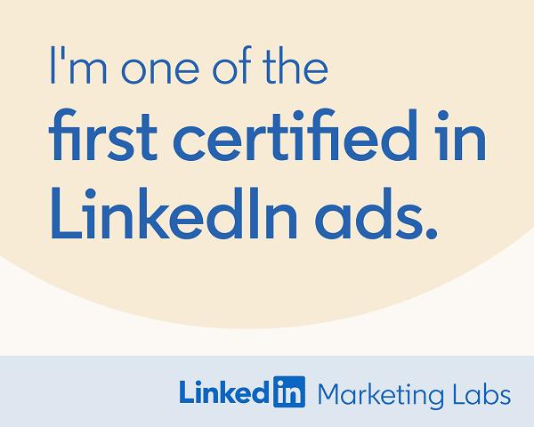 marenkoeppen zertifiziert für LinkedIn Kampagnen